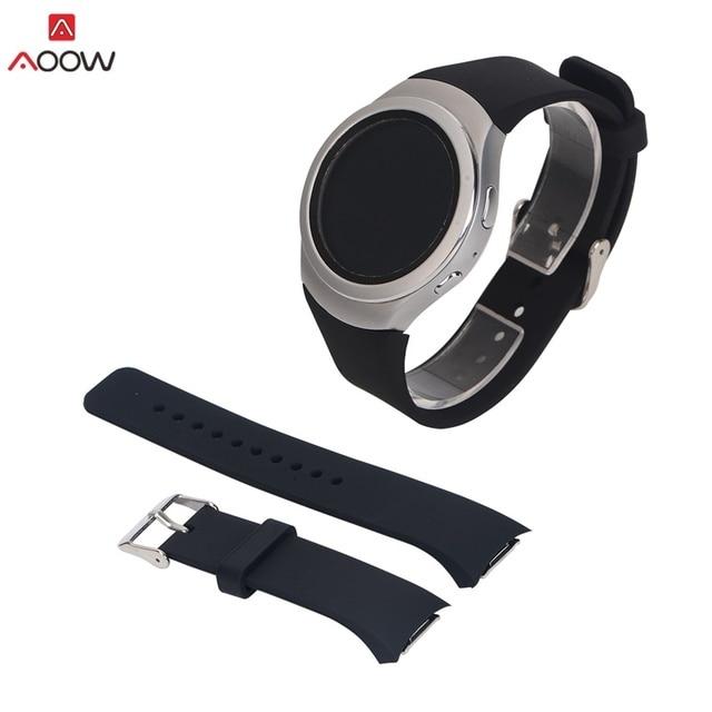 Aoow Del Cinturino Del Silicone Per Samsung Galaxy Gear S2 R720 R730 Della Cingh