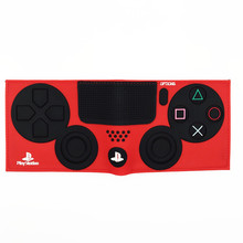 FVIP Game PlayStation 4 Wallet With Coin Pocket ID Card Holder 3D Touch PVC Short Purse for Young portefeuille homme & femme