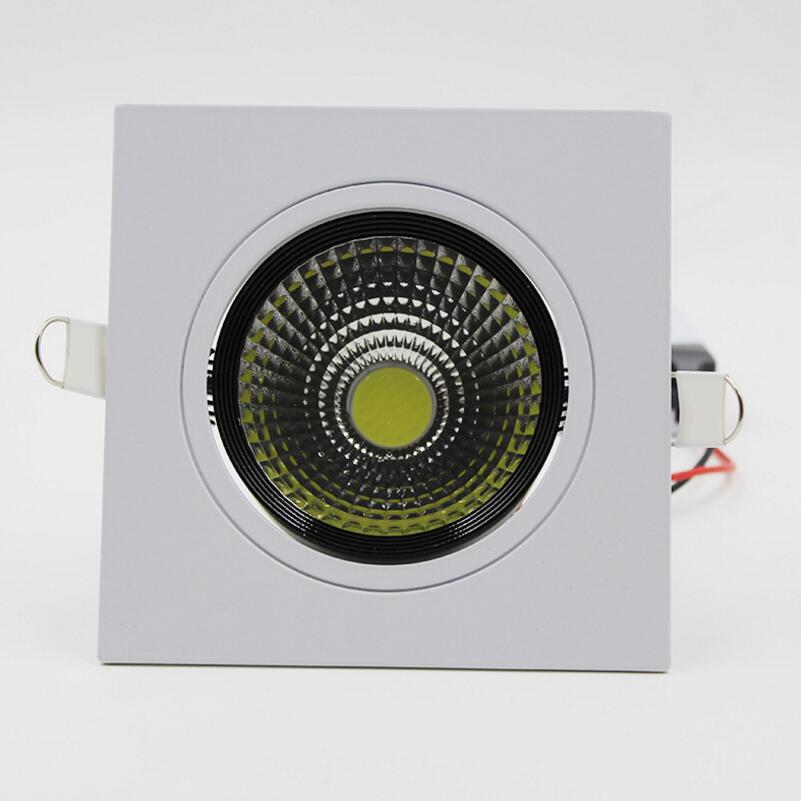 Factory direct sale High Quality Dimmable LED COB Downlight AC110V 220V 10W/15W Recessed LED Spot Light Decoration Ceiling Lamp