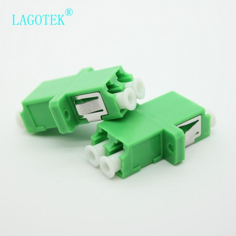 Купить 25/50/100/200 шт lc apc дуплексный одномодовый волоконно оптический