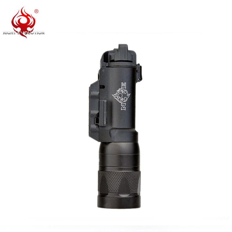 night evolution luz tatica x300v pistola lanterna led300 04