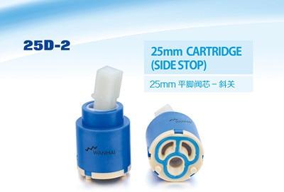 Free Shipping High Quality Wanhai 25mm Cartridge Side Stop Ceramic Cartridge Faucet