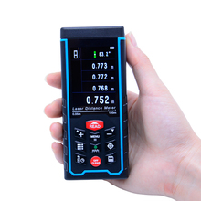 120 M SW-S120 Rechargeabel pantalla a Color Digital telémetro Láser Láser medidor de distancia Telémetro caza + W-TFT Lcd de La Cámara