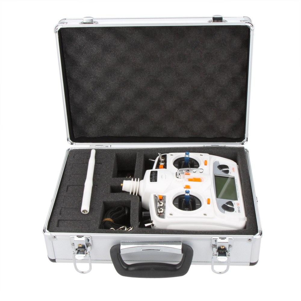 New Universal Transmitter Aluminum bag Case for Futaba JR Spektrum Walkera Esky RC Transmitter