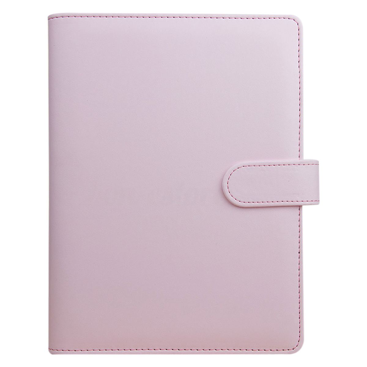 A5 Weekly Monthly Planner Diary Classic Loose-Leaf-Ring-Binder Notebook Cover, Pink a5 planner agenda pu loose leaf weekly monthly journal diary notebook blue