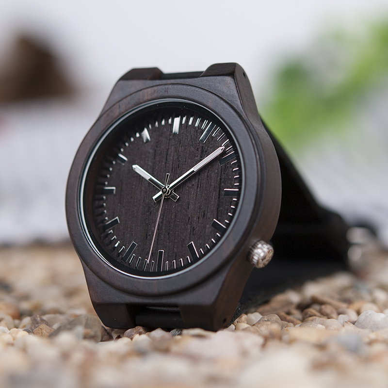 Zegarek drewniany Bobo Bird Dark B12 12