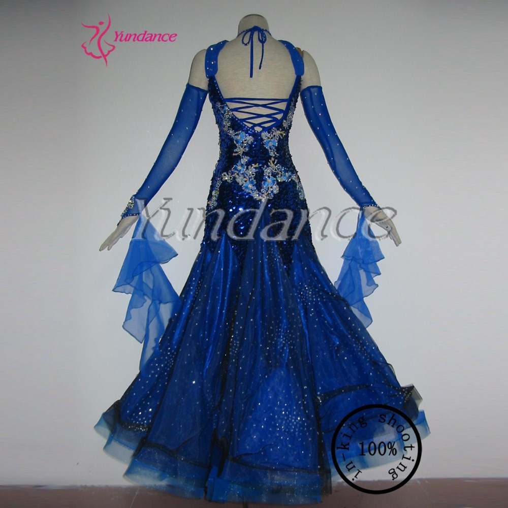 B 1127 ballroom dance gowns women for competition-in Ballroom from ...