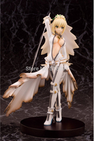 Anime Fate Stay Night fate/Extra CCC Saber Action PVC Figure Da Collezione Toy 22 CM FNFG024