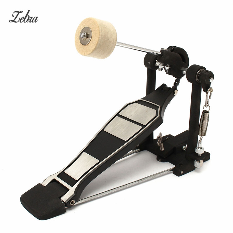 Zebra Bass Drum Pedal Beater Singer Tension Spring and Single Chain Drive Percussion Instrument Parts & Accessories