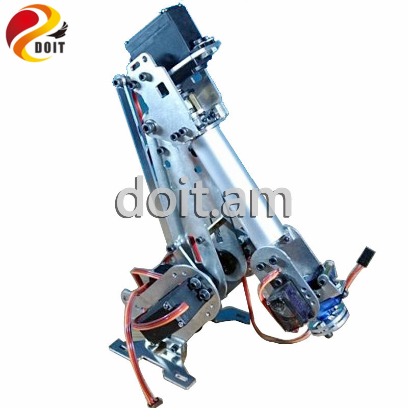 Official DOIT 6 Dof Robot Arm Vehicle Mounted Robot Arm for Smart Sar,Robot Servos Bracket +Mechanical Manipulator Aluminum intelligent force and position control of 6 dof robot manipulator