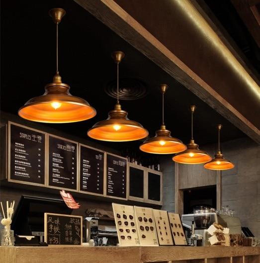 இAmerican loft estilo hierro Edison vintage colgante luminarias ...