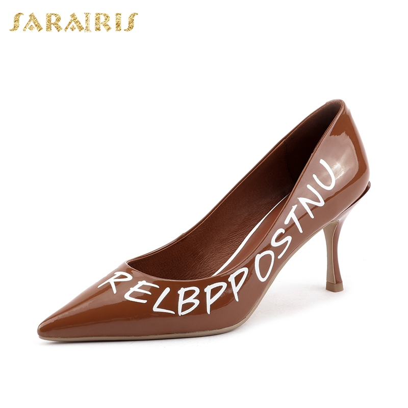 SARAIRIS Pointed Toe Sexy Thin High Heels new hot sale Ins Sexy Party womens Shoes Classics Fashion womens PumpsSARAIRIS Pointed Toe Sexy Thin High Heels new hot sale Ins Sexy Party womens Shoes Classics Fashion womens Pumps