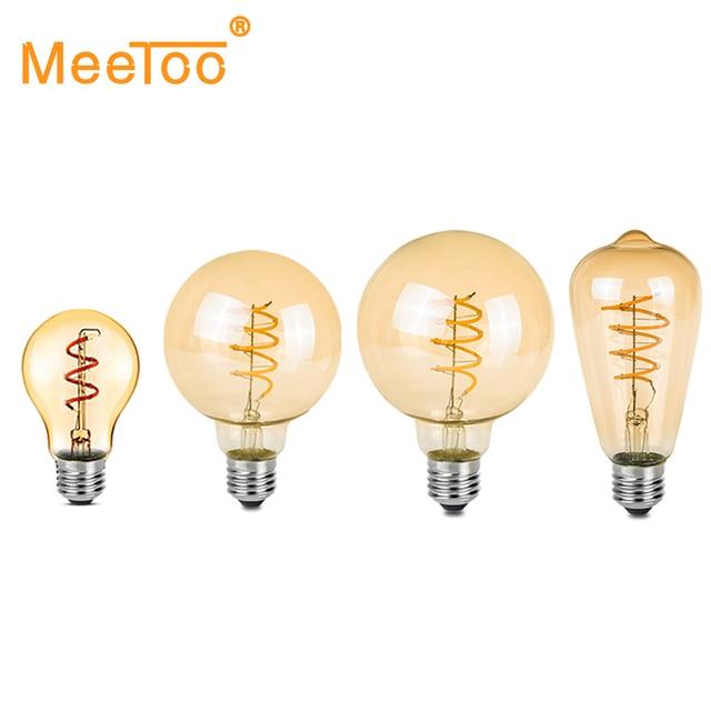 Dimmable Ampoule Led E27 220v Spiral Lampe Led Filament Lamp Light