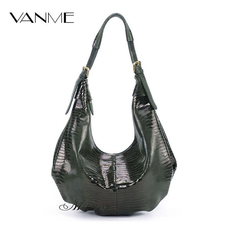 Promotion Luxury Design Real Split Leather Bags Perfume Sack Ladies Shagreen Blosas Fashion Women Big Hobos