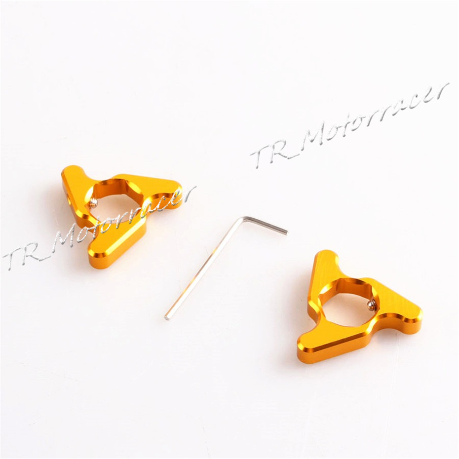 Motor Fork Preload Adjusters 17mm For Ducati 1098 S Tricolor 999 749 696 MTS1100 Universal For Suzuki Yamaha Honda Triymph Gold free shipping for bmw s1000rr motorcycle accessories 17mm fork preload adjusters 2pcs gold