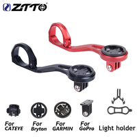 ZTTO Out front Bike Mount For Garmin Cat Eye Bryton Bicycle Computer GPS Go Pro Sports Camera Light Holder All In One