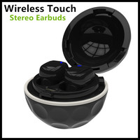 Bluetooth Touch Control HIFI Earphone With Mic BQEXI Touch JH 9105 TWS True Bluetooth Stereo Earbuds