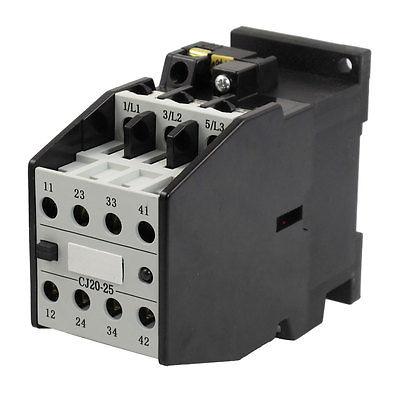 цена на CJ20-25 Motor Control 32A 440V 50Hz Coil 3 Pole 2NO 2NC AC Contactor