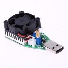 15 Вт RD Промышленного Класса Электронные Нагрузки Резистор USB Интерфейс Разряда Батареи Тест Емкости с Вентилятором Регулируемый Ток