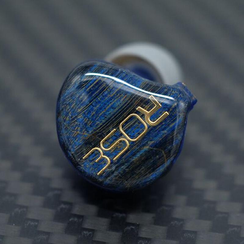 Prix pour NICEHCK Rose Cappuccino 2 + 2C Stable Panneau De Bois Dans L'oreille Écouteurs HIFI Moniteur 4 Unité Hybride 3D Impression Personnalisée intra-auriculaires