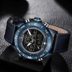 Image 2 - NAVIFORCE montre bracelet pour hommes, de marque supérieure, de Sport, de mode, Quartz, étanche, militaire, 2019