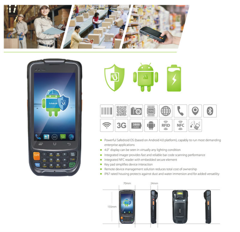2015 Best selling i6200s Suppermarket chain Use Android PDA