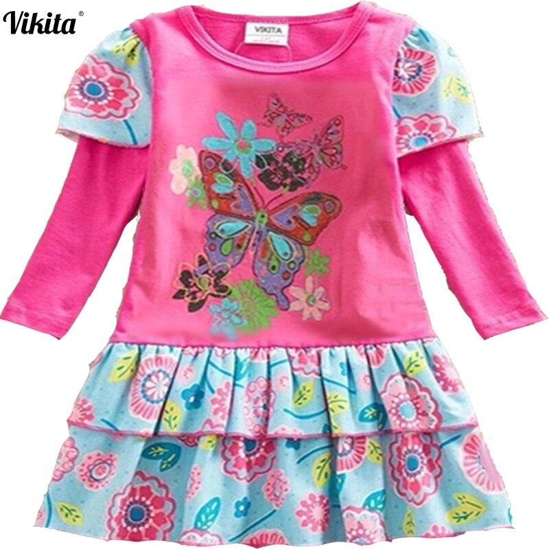 NEAT/Розничная продажа Детское платье 2017 принт для маленьких девочек roupa infantil принцессы кружевное платье-пачка детская одежда Вечерние L191
