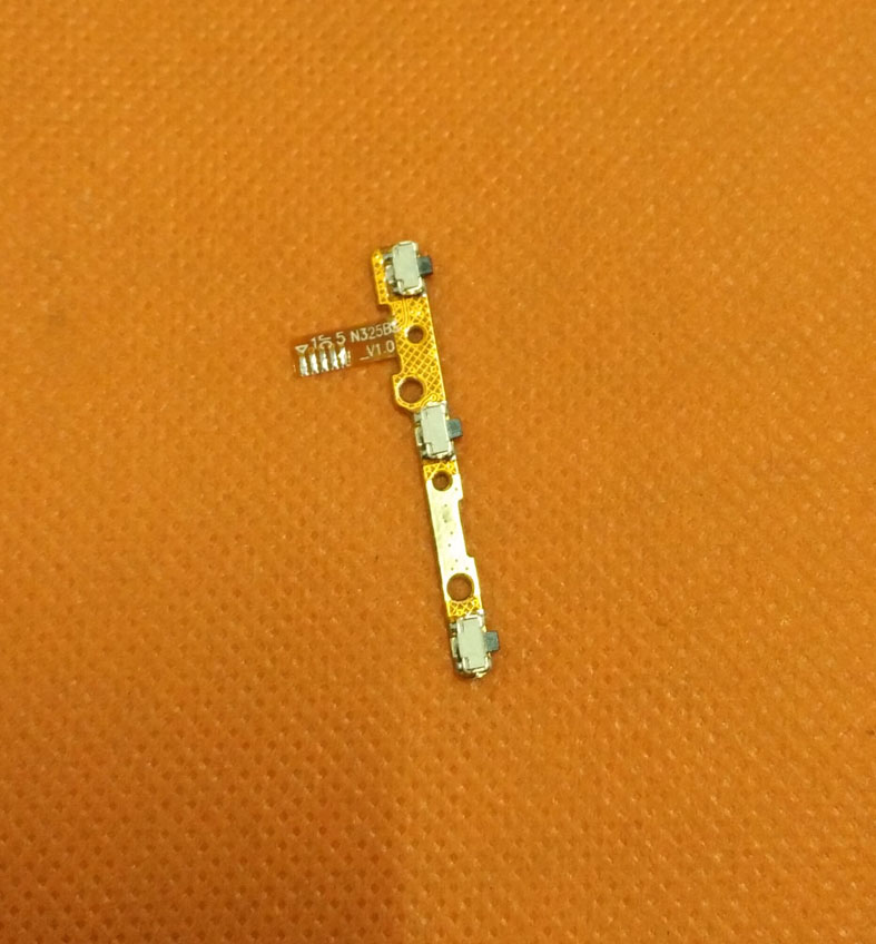 Original Power On Off Button Volume Key Flex Cable FPC For UMI Rome X MTK6580 5.5 Inch 1280x720 HD Quad Core Free Shipping