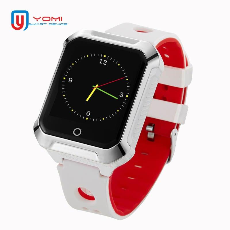Smart GPS Montre A20S pour Android IOS GPS Beidou WIFI Localiser Moniteur de Fréquence Cardiaque Podomètre Intelligent Rappel Adulte Smartwatch