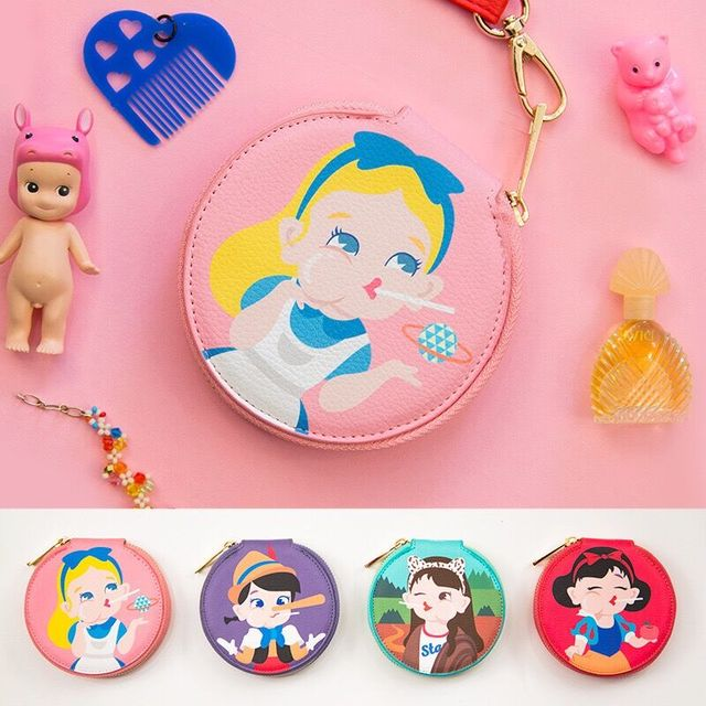 Princess Pink Girls Coin Pocket Mini purses