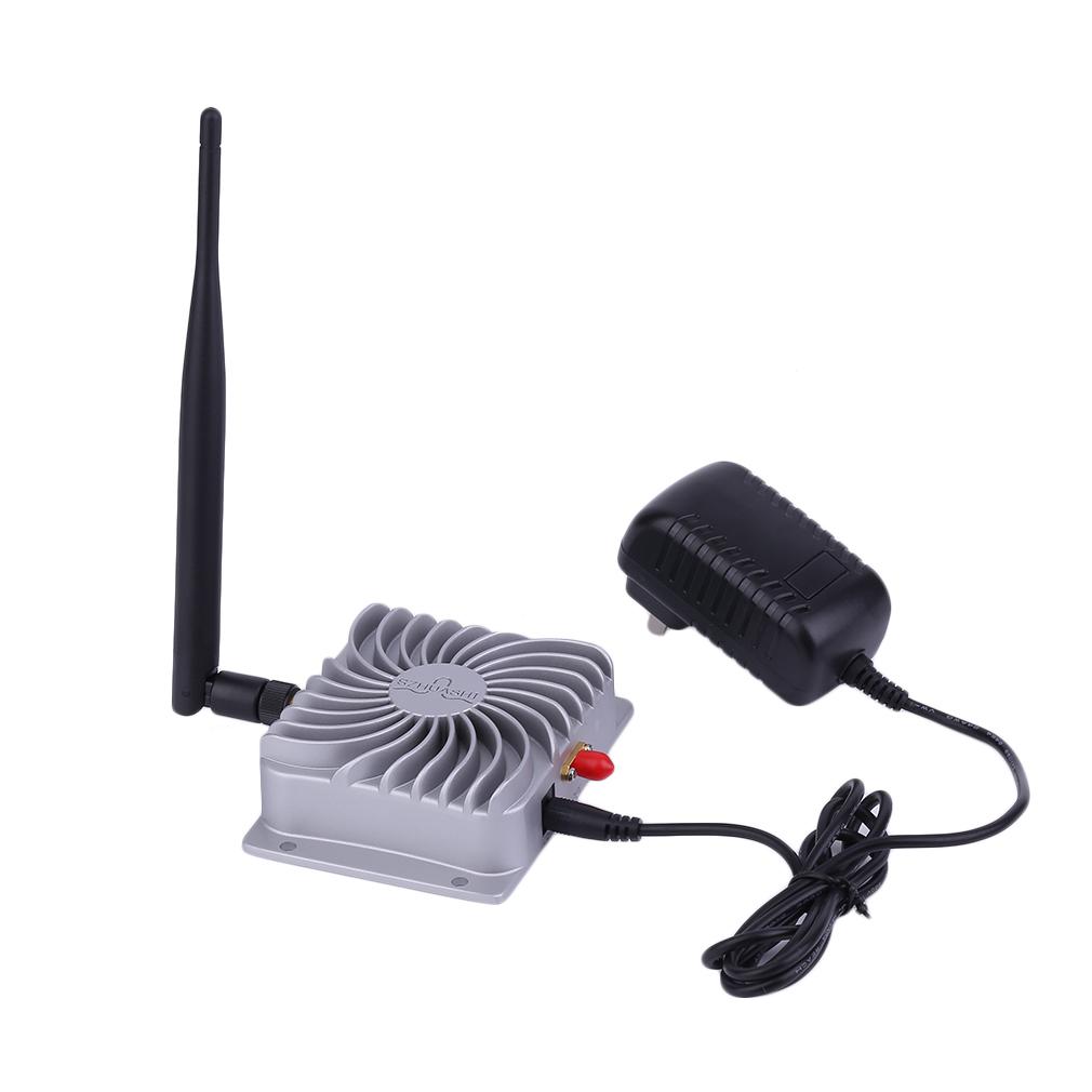 Prix pour 2.4 GHZ Super Longue Portée Haute Vitesse IEEE802.11b/g/n WiFi WLAN Signal Booster 5 W Wifi Sans Fil haut débit Amplificateur Gros