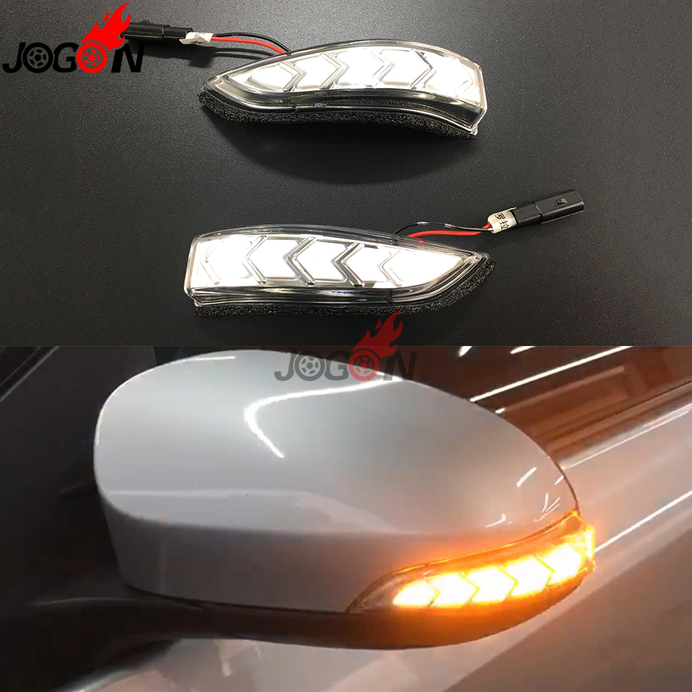 For Toyota Camry Corolla Prius C Venza Avalon Vios Yaris Altis Scion iM LED Dynamic Turn Signal Rear Mirror Indicator Light