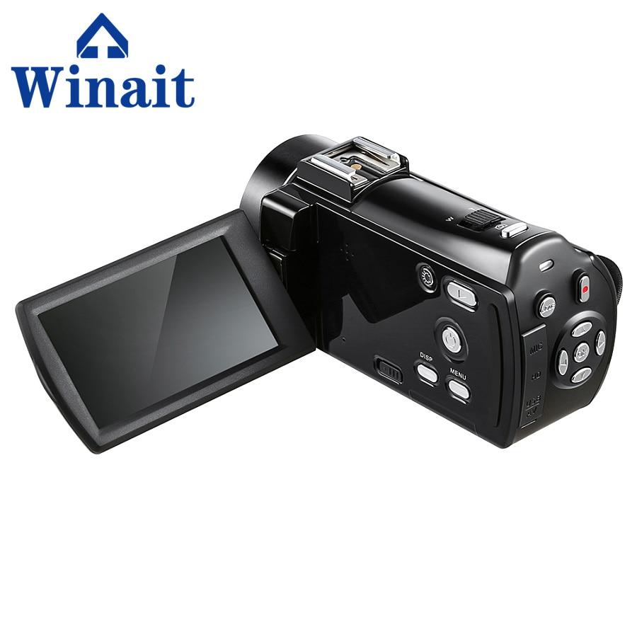 Caméra vidéo numérique Portable HDV-V7 24mp 16X zoom numérique caméscope vidéo sans fil caméra photo professionnelle