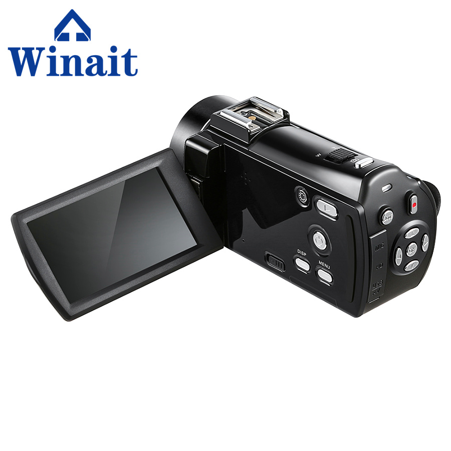 Portable digital video camera HDV-V7 24mp 16X digital zoom wireless video camcorder professional photo camera