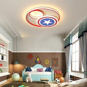 Captain America  Modern Led Ceiling Lights Best Children's Lighting & Home Decor Online Store