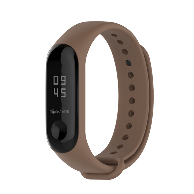 Mijobs Bracelet for Xiaomi Mi Band 3 Sport Strap Watch Silicone Wrist Strap For Xiaomi Mi Band 3 Accessories Miband 3 Bracelet 3