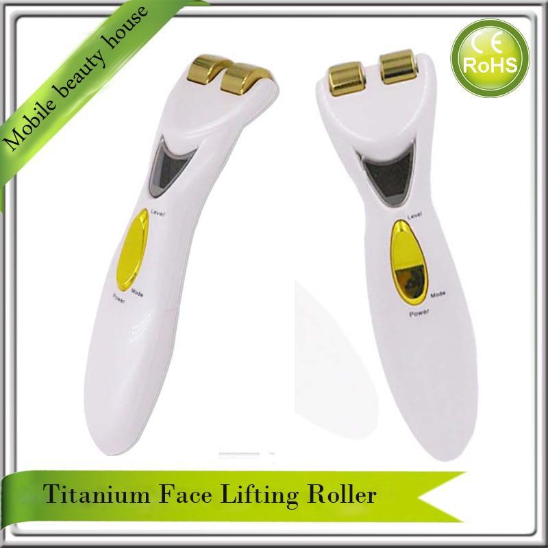 Electric Bio Wave EMS Microcurrent Collagen Stimulation Regeneration Facial Firming Skin Lifting Face Slimming Roller Massager l arisse bio collagen