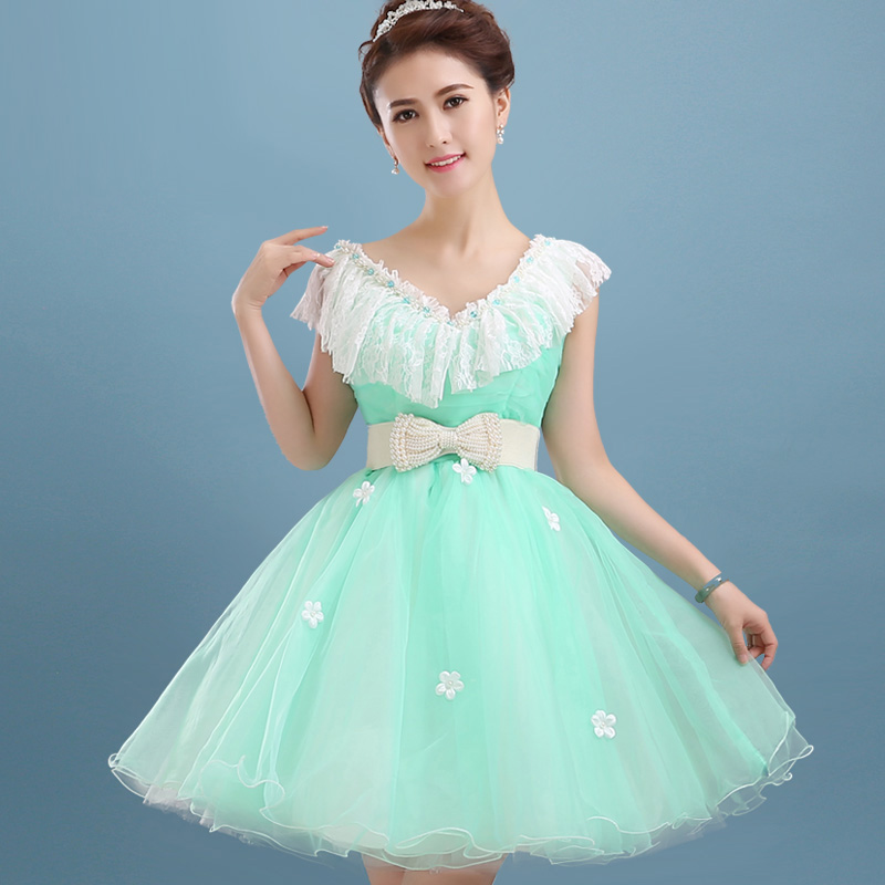 Online Buy Wholesale short lime green prom dresses from China ...