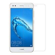 Huawei 社 P9 Lite ミニスクリーンプロテクター 2.5D 9 H 強化ガラス Y6 プロ 2017 ガラス楽しむ 7 フロント HD フィルム P9 Lite ミニガラス