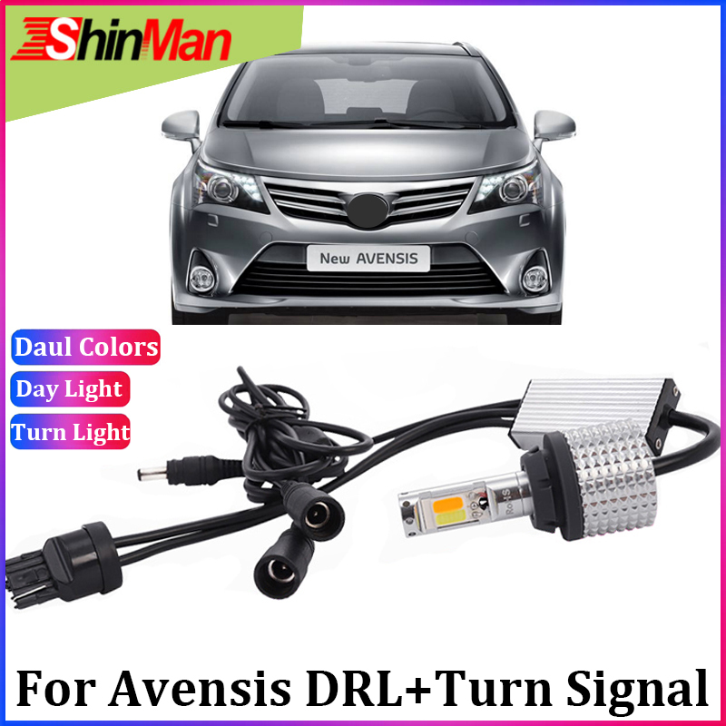 ShinMan Error Free led T20 WY21W Turn Signals Light LED DRL CAR daytime Running light For
