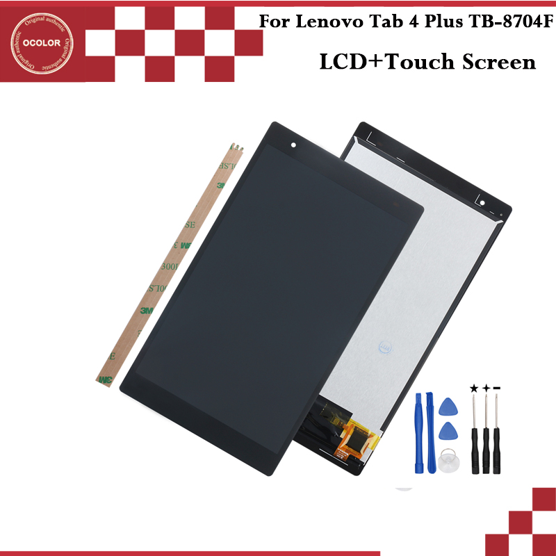 ocolor For Lenovo Tab 4 Plus TB 8704F LCD Display and Touch Screen8 0 inch Mobile