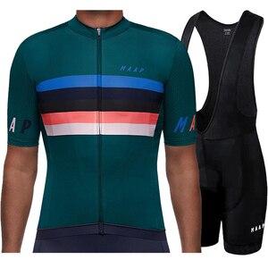 Image 4 - Runchita פרו גרסת צוות 2020 רכיבה על אופניים ג רזי קצר שרוול סטי טריאתלון mtb ג רזי bicicleta camisa ciclismo מאיו ciclismo
