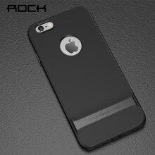 Rock оригинальный Royce чехол для телефона iPhone 6 6 S Жесткий PC + мягкая TPU ультра-тонкий роскошный сзади Чехол для iPhone 6 S Чехол телефон оболочки