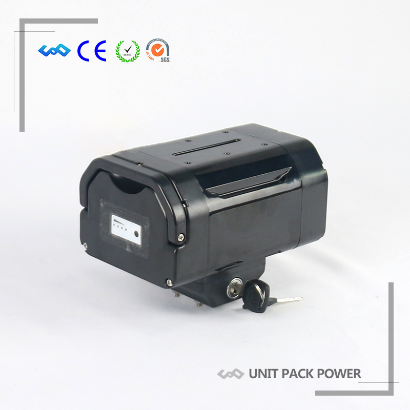 US EU No Tax Import cell Electric Bike Battery 36V 10.4Ah Seat Post type Lithium Battery for Bafang BBS01 BBS02 eBike Motor us eu no tax 2016 new arriver lithium electric bike battery samsung cell 36v 15 6ah shark ebike battery with usb charger