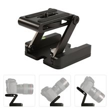 Cabezal de trípode tipo Z Orsda plegable Z cabezal de inclinación flexible para cámara Canon Nikon Sony DSLR solución de cabezas de trípode de aleación de aluminio