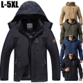 3XL 4XL Fashion Waterproof Thin Jacket Men Famous Brand Casual Jackets Outerwear Coats Windbreaker Spring Jackets Men/Male CF008