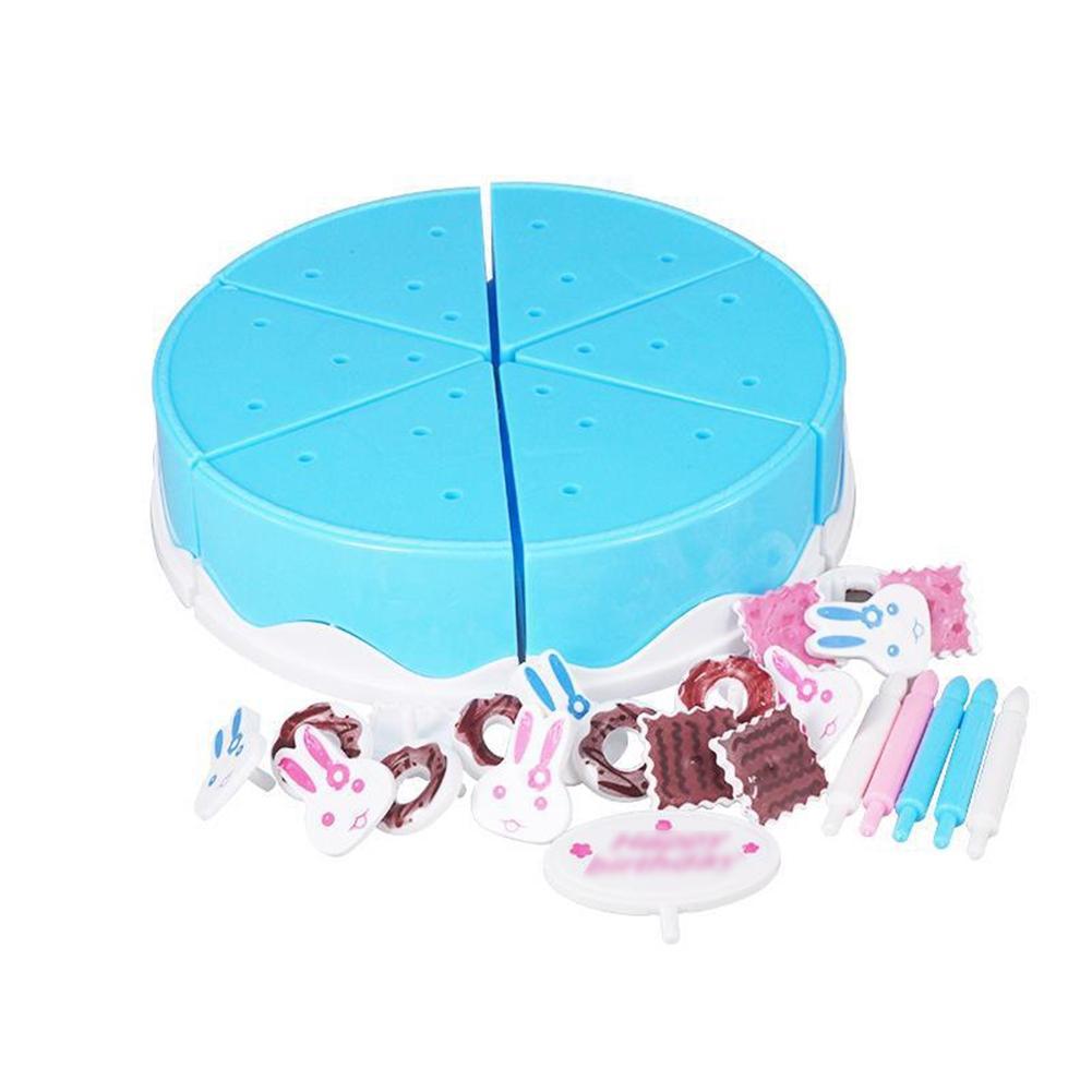 LeadingStar Plastic Kitchen Cutting Toy Pretend Play Food Assortment ...