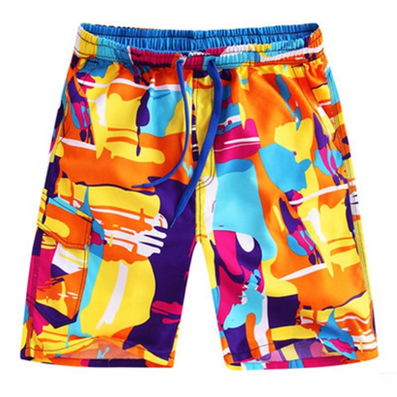 Summer beach shorts men swimwear mens board shorts swimsuit pantaloneta playa soft shorts dragon ball shorts male