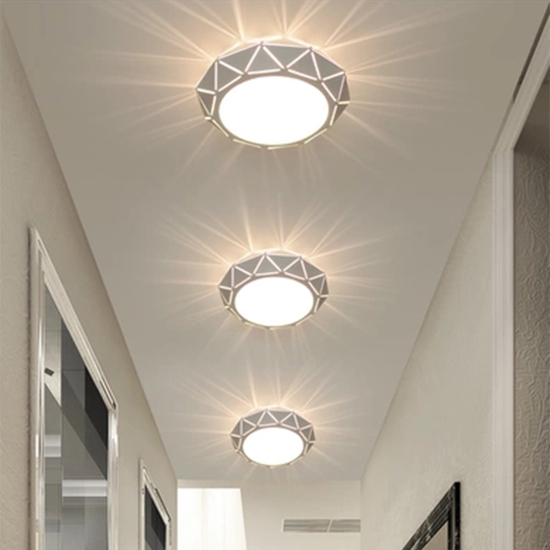 Modern LED Ceiling Lighting Corridor Light Entrance Porch Living Room Ceiling Lamp Balcony Lamp AC90-260V iron indoor fixtures 220v 110v 85 265v stainless steel ceiling lights entrance porch corridor lighting light scene lighting