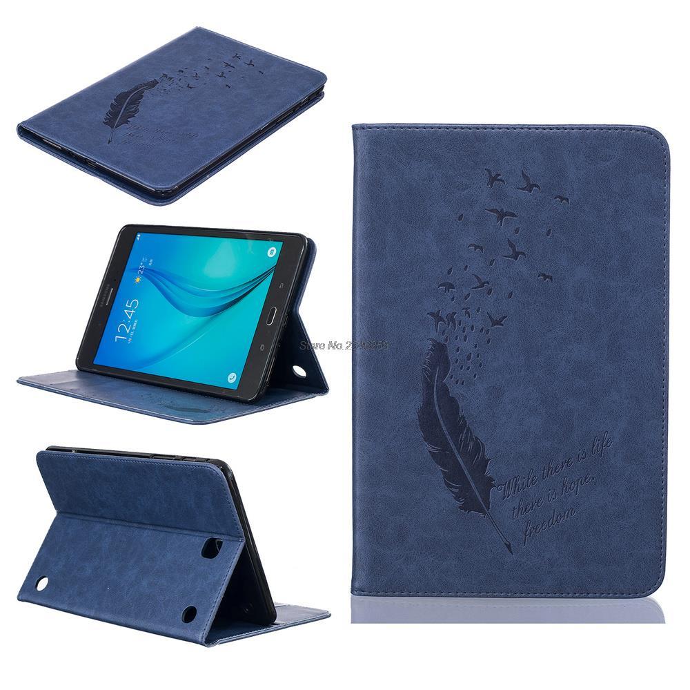 чехол для samsung tab a 8 t350 355 proshield slim case черный For Samsung Galaxy Tab A 8.0 T350 Case With Cards Slot T351 T355 SM-T355 8 Stand Smart Cover Auto Sleep Wake-up